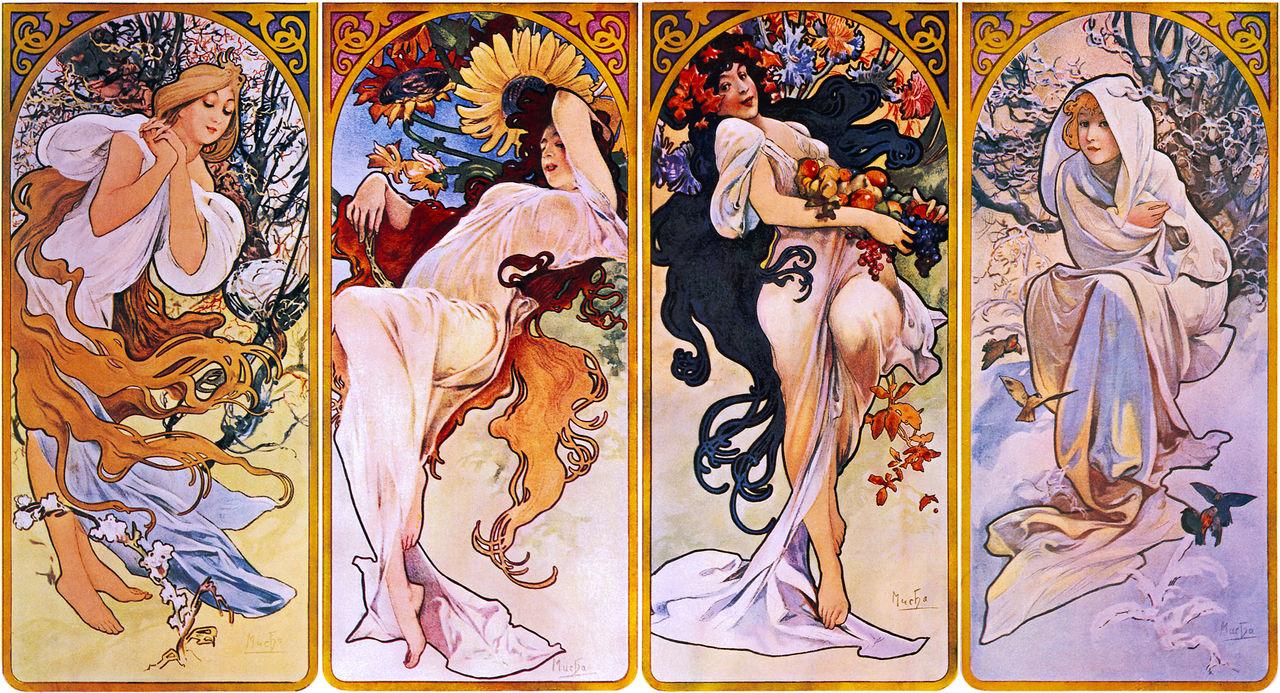 1280px-Four_Seasons_by_Alfons_Mucha,_circa_1895
