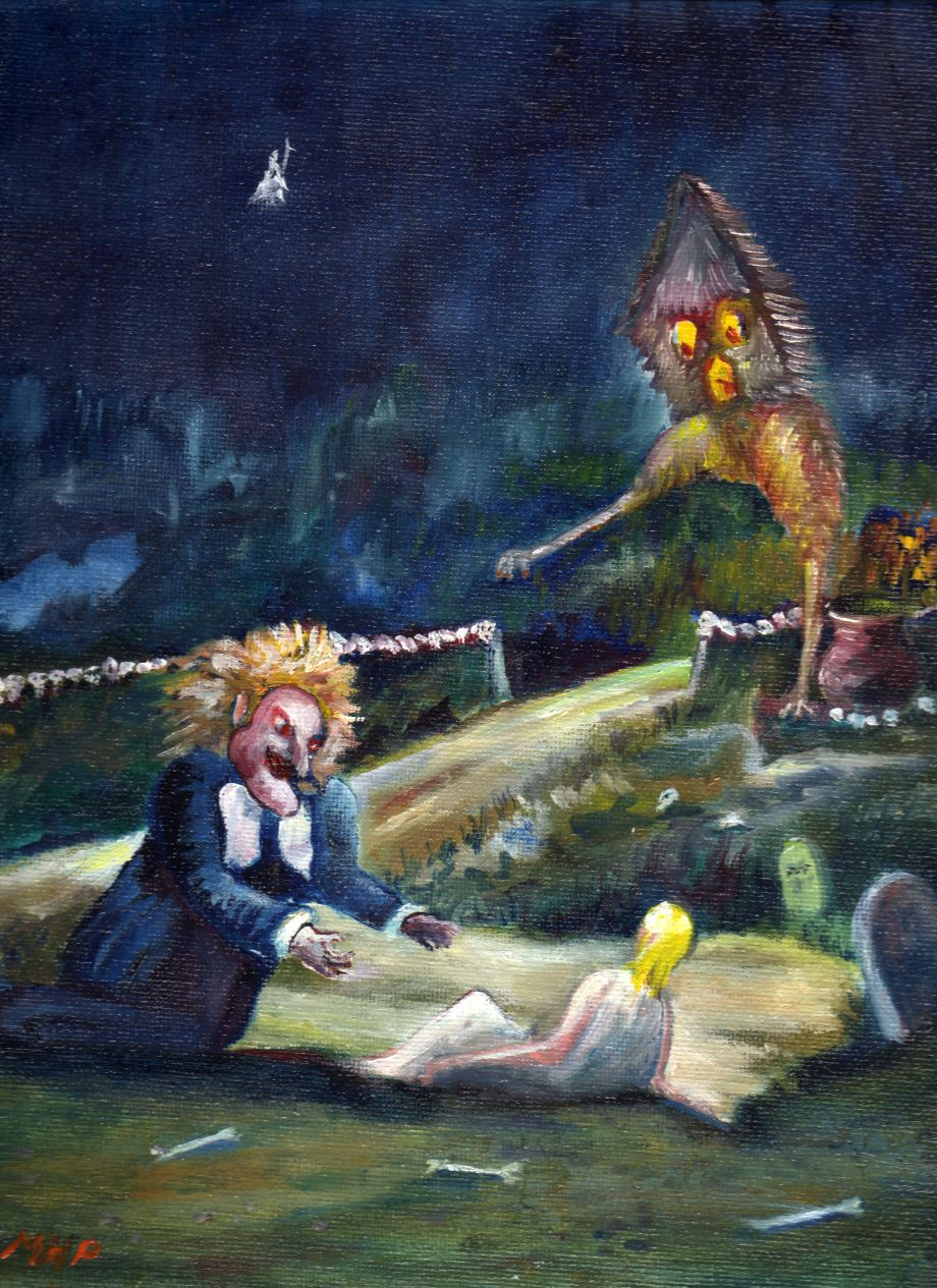 The Hut of Baba Yaga the Witch (The Hut with Chicken Legs)